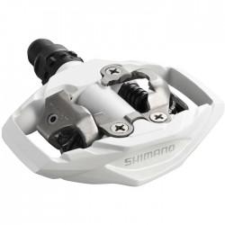 Pedále MTB M530 SPD biele s