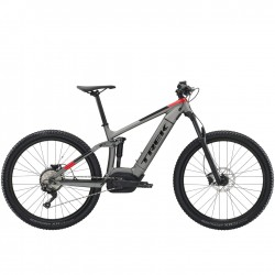 TREK Powerfly FS 5 2019 sivá