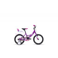 CTM JENNY 2021 fialová/biela